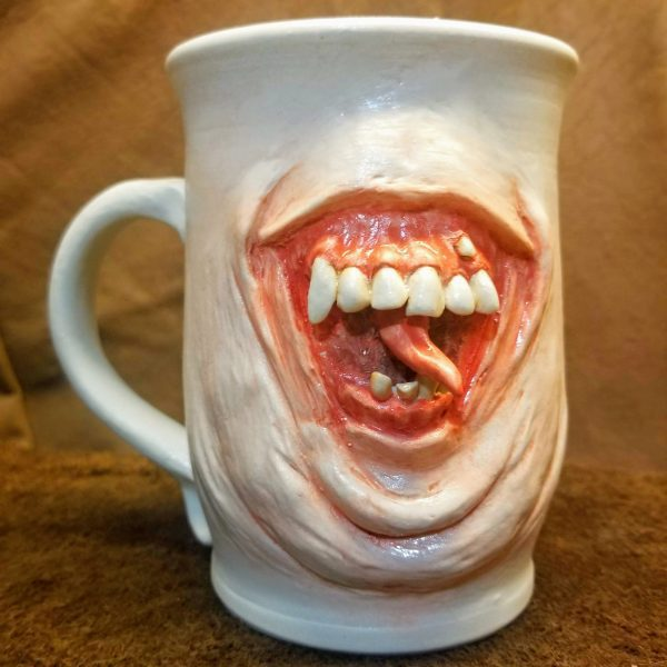 Toothy Mug named Fred