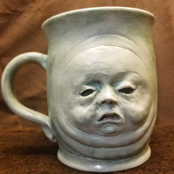 Warashi Ghost Baby Stoneware Mug