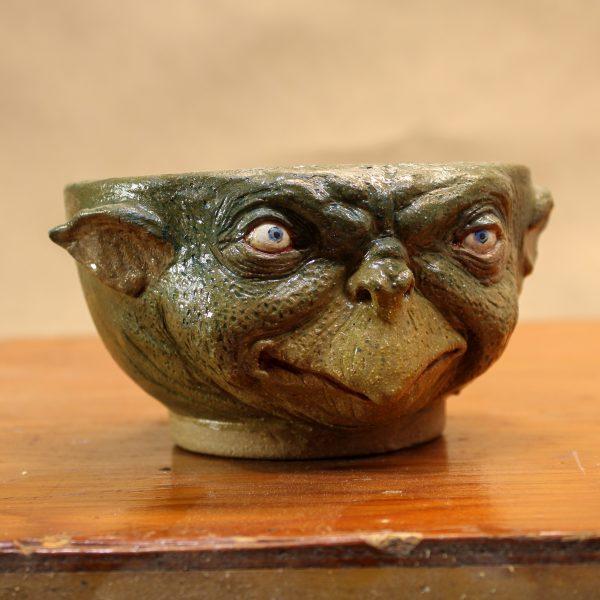 Handmade Stoneware Kappa Bowl