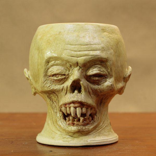 Stoneware Vampire Nosferatu Mug