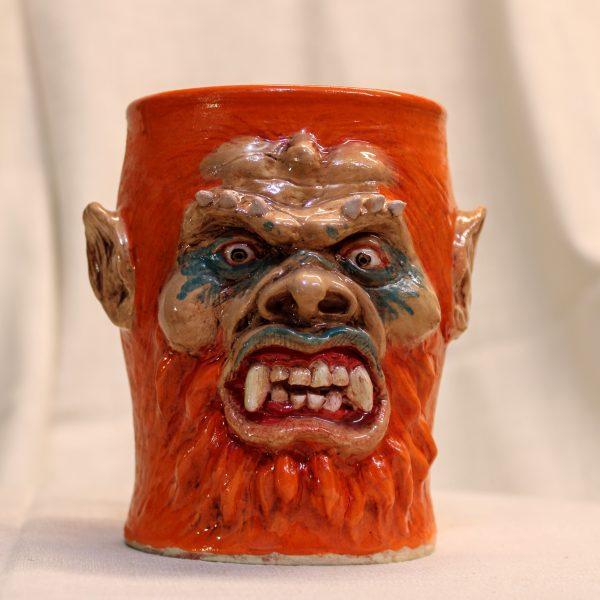 Beast Man from Master's of the Universe Handmade Stoneware Mug