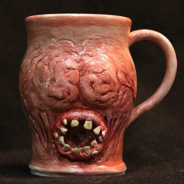 Handmade Brainy Licker Mouth Mug
