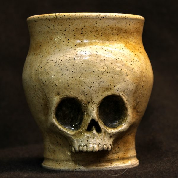 Handmade Big Bonce Skull Tumbler