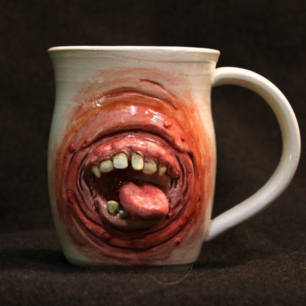 Handmade Derpy Mouth Mug