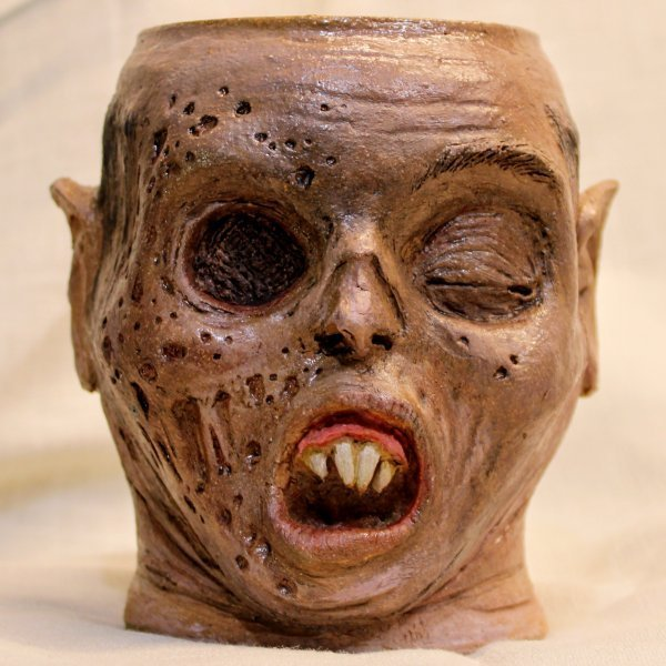 Decomposing Rotting Vampire Mug