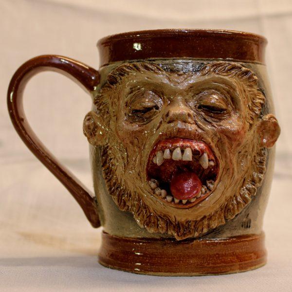 Handmade Horrible Monkey Mug