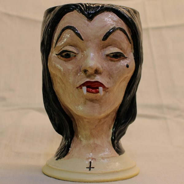 Handmade Vampira Mug Cup