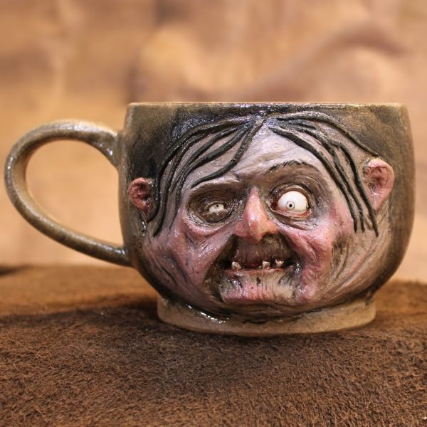 Handmade Witchy Hag Soup Mug